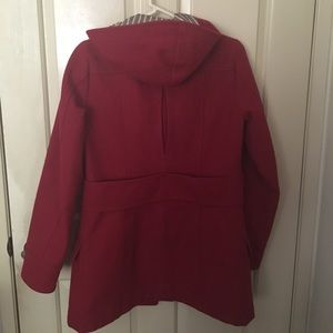 American Eagle Outfitters Jackets & Coats - American Eagle red Toggle jacket Coat with hood